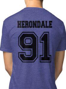 Herondale 91 Black Shadowhunters Tri-blend T-Shirt