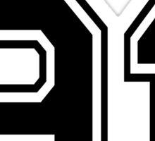 Herondale 91 Black Shadowhunters Sticker