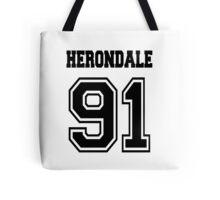 Herondale 91 Black Shadowhunters Tote Bag