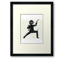 Cyber Ninja Framed Print