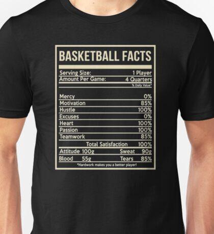 Basketball facts girlfriend Unisex T-Shirt