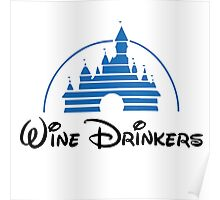 Wine Drinkers Poster