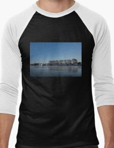 Seagull Convention on Thin Ice Men's Baseball ¾ T-Shirt