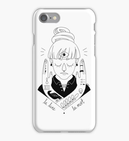 Moon / Death iPhone Case/Skin