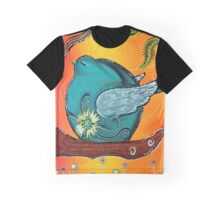 Garden Bird Graphic T-Shirt