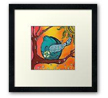Garden Bird Framed Print