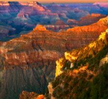 Sunset at Grand Canyon National Park, Arizona Sticker