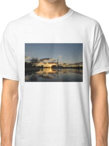 Fire in the Sky - Skyscrapers and the Beaches Marina Classic T-Shirt