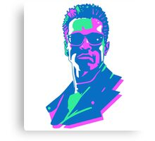 Retro 80s Terminator Canvas Print