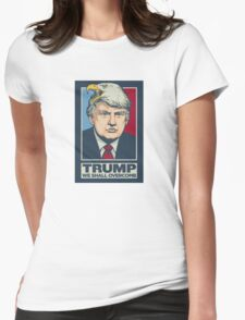 Donald Trump | WE SHALL OVER COMB | 2016 Womens Fitted T-Shirt