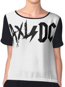Axl/DC (Logo) Chiffon Top