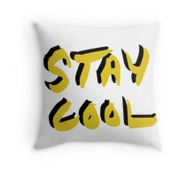 Stay Cool y&b Throw Pillow