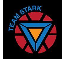 "Team Stark ""civil war"" Photographic Print"