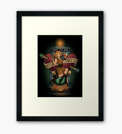 Hello Sweetie Framed Print