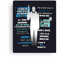 Sterling Archer Quotes Canvas Print