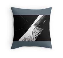 Under the Skyscrapers Throw Pillow