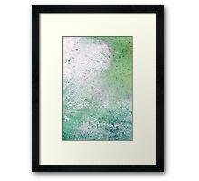 Old car abstract 10 Framed Print
