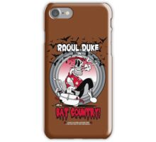 Fear N Loathing In This Foul Year Of Our Lord 1925 iPhone Case/Skin