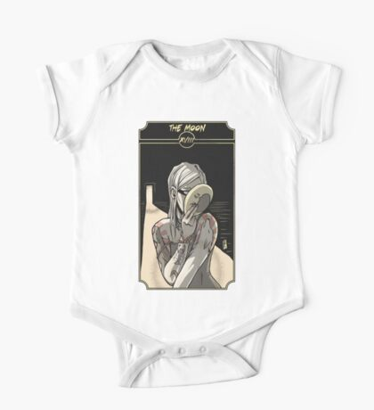 The Moon - Sinking Wasteland Tarot One Piece - Short Sleeve