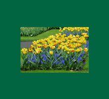 Tulips and Grape Hyacinths - Keukenhof Gardens Womens Fitted T-Shirt