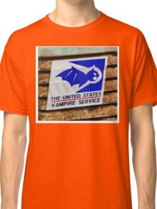 vampire service Classic T-Shirt