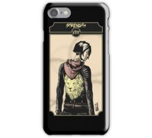 Strength - Sinking Wasteland Tarot iPhone Case/Skin