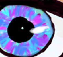 Neon Eyeball Sticker