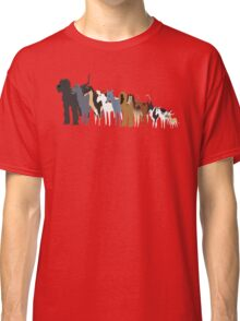 Sighthound Line Up Classic T-Shirt