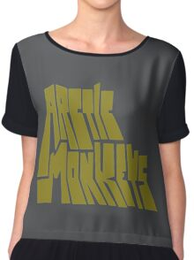 Favourite Worst Nightmare by Arctic Monkeys  Chiffon Top