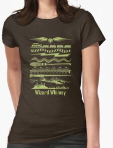 Wizard Whimsy Womens Fitted T-Shirt