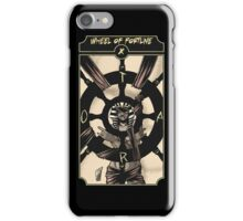 Wheel of Fortune - Sinking Wasteland Tarot iPhone Case/Skin