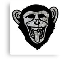 Granite Chimp Canvas Print