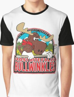 Frost Bite Falls Bullwinkles Graphic T-Shirt