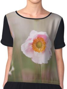 Beautiful flower Chiffon Top