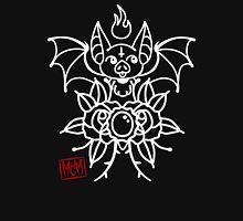 Midnight Bats Womens Fitted T-Shirt