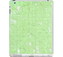 USGS TOPO Map Alabama AL Parker Springs 304786 1982 24000 iPad Case/Skin