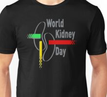 World kidney day Unisex T-Shirt
