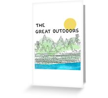 The Great Outdoors Greeting Card