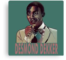 Desmond Dekker  Canvas Print