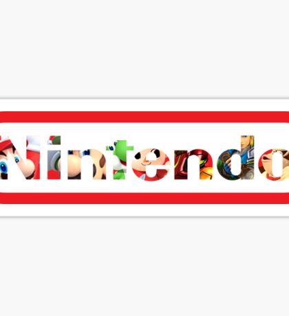 """Nintendo Heroes - """"HeroText"""" Sticker"""