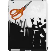 Cutting Paper iPad Case/Skin