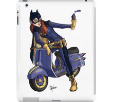 Batgirl takes a selfie. iPad Case/Skin