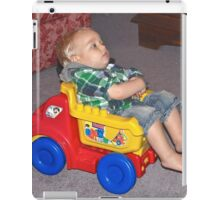 Watching TV iPad Case/Skin