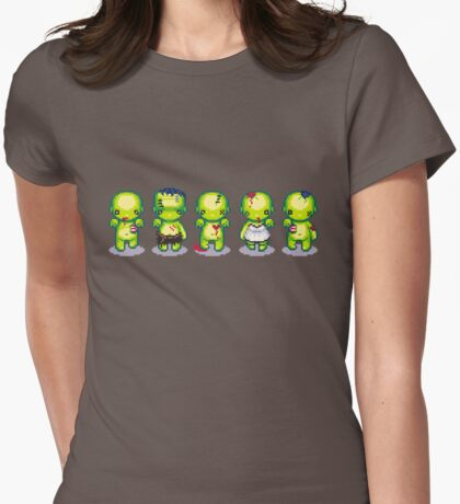 The Zombie Hoard Womens Fitted T-Shirt