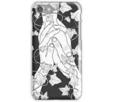 pay attention (b&w) iPhone Case/Skin