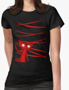 Unravel the strings Womens Fitted T-Shirt