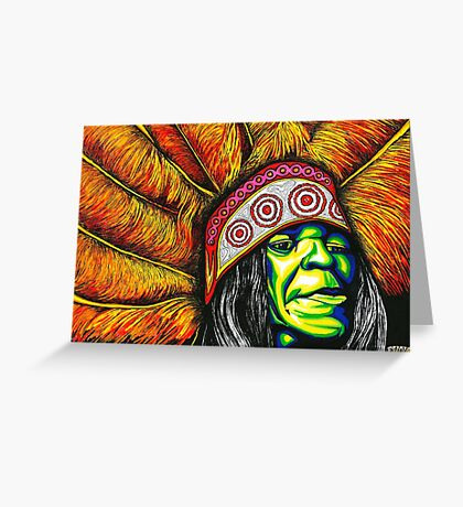 Big Chief Greeting Card