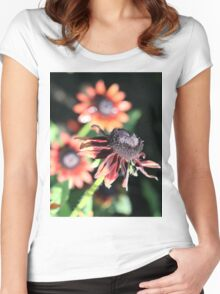 Bloomin' Colours Women's Fitted Scoop T-Shirt
