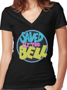 Saved by the Bell Women's Fitted V-Neck T-Shirt