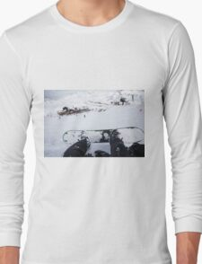 Tignes, France, Ski resort Long Sleeve T-Shirt